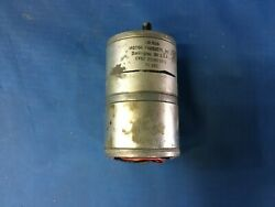 Coleman Motor Products Dc Motor Gearhead 24vdc Nsn6105-01-197-3841