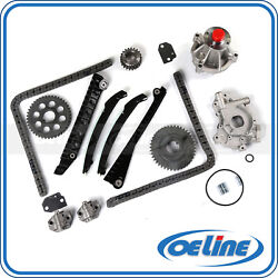 Timing Chain Kit For 2002 Ford Expedition F-150 5.4l Gas Sohc W/ Oil Water Pump
