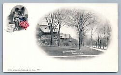 Buffalo Ny Delaware Ave. Private Mailing Card Antique Postcard By A. Livingston