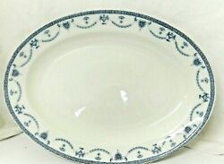 Johnson Brothers The Villiers Platter 14 Inch Oval England Discontinued Htf Vtg