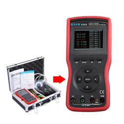 Auto Three Phase Digital Phase Voltmeter Ac Current Voltage Tester Rs232 Port