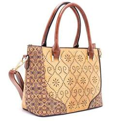 Cork Ladies Shoulder Bag Crossbody Bag Handbag Vegan