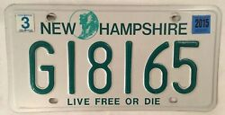 G Government Police License Plate State Govt Official Sheriff Trooper Officer Nh