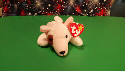 Ty Butch the Bull Terrier Beanie Baby Retired Mint with Tags