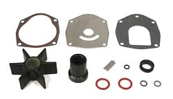 Pump Rebuild Impeller Kit For Mercury 80 Hp 3 Cylinder A996142 And Up Engines