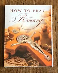 How To Pray The Rosary Folding Booklet, Ideal For Home Use, Catholic, Prayers