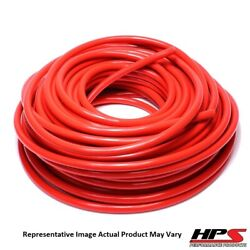Hps 3/4 Id Red High Temp Reinforced Silicone Heater Hose Tubing - 50 Feet Roll