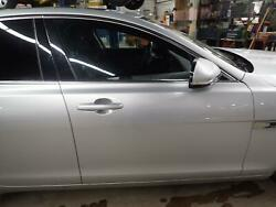 16 17 Xf Right Passenger Front Door With Chrome Trim Option Silver Men