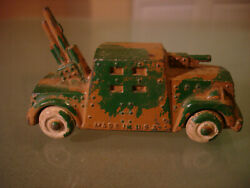 Barclay Manoil Soldier Lead Military Assault Vehicle 45.