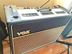 In Montreal Vox Amp Ac30 Ac30cc2x 2x12 Alnico Blue Speaker Never Used Mint