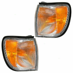 Fit For Ns Pathfinder 1999 2000 2001 2002 2003 2004 Corner Lamp Right And Left Set
