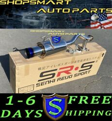 Srs Axleback Exhaust Muffler 9th Gen Civic R18 Axle-back Sedan Coupe Lx Ex Burnt
