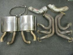 Used Billy Boat Exhaust Headers W/o Heat Exchangers Porsche 993 No Turbo 1995 C2