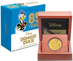 Niue - 2019 - 1/4 Oz Gold Proof Coin- Donald Duck 85th Anniversary