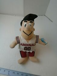 Vintage Nfl Fred Flintstone Plush 10 Toys 1994 Cardinals Play-by-play