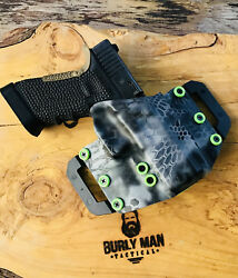 Burly Man Tactical Owb Kydex Holster Fits Sccy Handguns