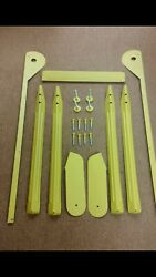 Shrek Pinball Powdercoat Leg Bolts And Levelers Lock Bar Side Rails Hinges Legs