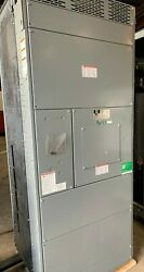 Square D Qed 1600 Amp 480 Volt 4 Wire Switch Cabinet With Alum Bus Details New