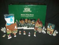 Dept 56 Manchester Square Dickens Village Series Buildings Figures Accessories