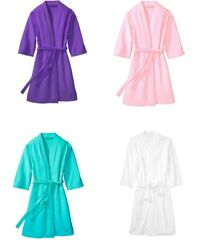 Terry Bath Robe Womenand039s Cotton Toweling Gown Pink Purple White Luxury 2x 3x 4x