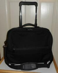 BRIGGS amp; RILEY BASELINE 14quot; COMPANION TOTE ON WHEELS WEEKEND ROLLING BAG 06 U114 $38.00