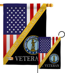 Home Army National Guard Garden Flag Armed Forces Decorative Yard House Banner