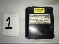Boeing 727 737 Part Instrument Airplane Turbo Tag Gps Annunciation Control Unit