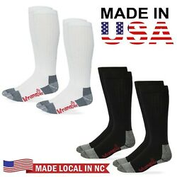 Wrangler Riggs Mens 80% Cotton Tall Over the Calf Boot Work Socks 2 Pair Pack $11.99