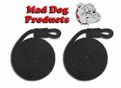 Mad Dog Black Fender Line - 5/8 X 5and039 - Sold In Pairs - Made In The Usa