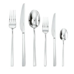 Sambonet Cutlery Set Handle Cable Stainless Steel 36 Pz Line Q
