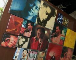 Leslie Cheung a lot Early Press CDLDVinyl RecordsDVDSong Book good condition