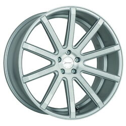 Corspeed Deville Felgen 9x20 + 105x20 Silver-brushed Ford Mustang Lae