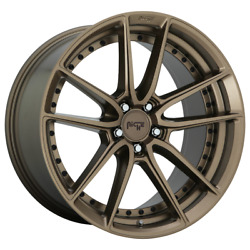 4 Rims Niche 1pc Dfs Matte Bronze 20x95x112 Rims For Audiandnbspbmw Mercedesvw+38