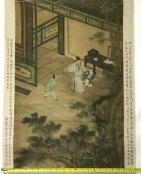 Hand-painted Chinese Ancient Painting.
