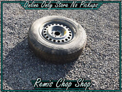 16 Inch Steel Spare Wheel And Tyre - Cx Cg Captiva Spare Parts - Remis Chop Shop