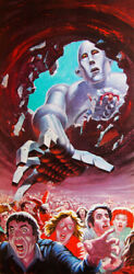 Queen News Of The World 1977 Album Cover Stretch Canvas Wall Art Poster Print