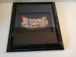 Charles Fazzino Signed 3d Pop Art New York From Hot Pastrami To Cold Salami Sign