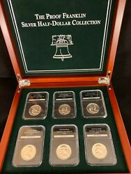 The Proof Franklin Silver Half-dollar Collection From Pcs 1954-1963