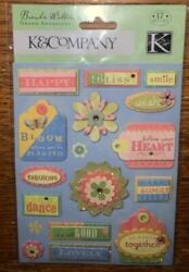 Kamp;Company Garden Tag Bliss Bloom Planted Happy Heart Flower Dance Together Sweat