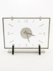 Attractive Jaeger Lecoultre Table Clock With 8-day Movement Art Deco