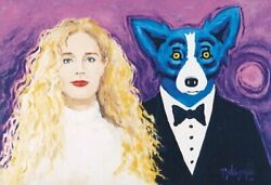 Blue Dog George Rodrigue Wendy And Me Make Offer Gea Dss