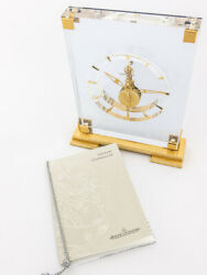 Jaeger-lecoultre 8-day Inline Movement Table Desk Clock 1960andacutes Papers