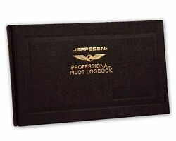Jeppesen Professional Logbook Free Shipping