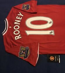 Manchester United Rooney Soccer Jersey Barcelona Real Madrid Mexico America Usa