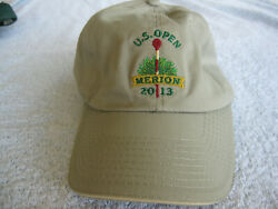 Souvenir Golf Hats From The 2013 Us Open At Merion