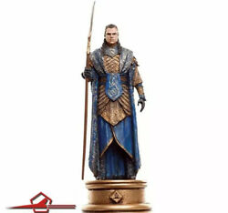 Gil-galad White Bishop Lord Of The Rings Chess Set 3 Eaglemoss Figures Nr. 90
