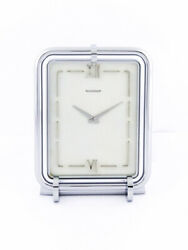Very Rare Jaeger Lecoultre Desk Clock Like A Picture Frame.