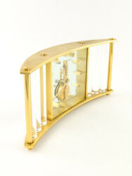 Ultra Rare Jaeger Lecoultre Table Clock With 8 Days Inline Movement 50and039s