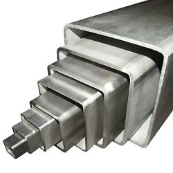 200 X 200 X 8 Grade 316 Stainless Steel Unpolished Box Section Any Length