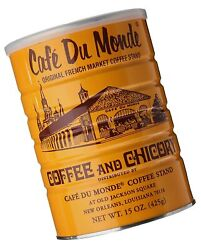 Cafe Du Monde Coffee Chicory 15 Ounce Ground 15 Ounce Pack of 1